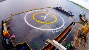 Baby, Come back! Elon Musk's message to the Falcon 9 Rocket following the first failed barge landing attempt. Credit: SpaceX